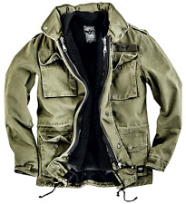 Black Premium by EMP Army Field Jacket Giacca verde oliva