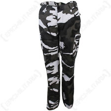 US Womens BDU Urban Camo Trousers - Ladies Cargo Pants Army Military All Sizes