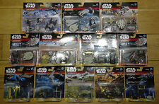 **NEW DISNEY HASBRO STAR WARS MICROMACHINES - 12 DIFFERENT PACKS TO CHOOSE FROM*