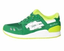 Scarpe Asics Gel Lyte III GS C5A4N 8401 Bambino running Green White Fashion Moda