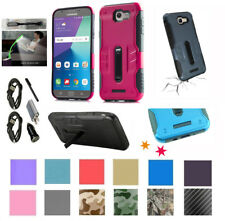 for Samsung Galaxy J7 2017 SKY PRO Case Corner Guard Kickstand Hybrid Cover +