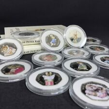 Beatrix Potter Coins Collection, Peter Rabbit, Jemima Puddleduck, Squirrel Nu...