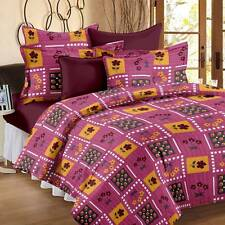 Story@Home Cotton Floral Double Bedsheet(1 Double Bedsheet,2 Pillow Covers)- I8E