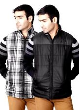John Players Sleeveless Striped Mens Quilted Jacket-5441-HRS