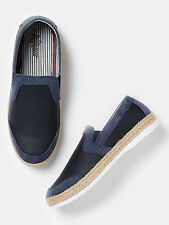 Roadster Men Navy Slip-Ons   -E0V