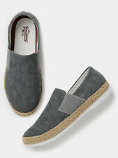 Roadster Men Grey Slip-Ons-169-FW2