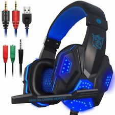 Gaming Headset con microfono e LED per PC, cellulare, PS4 e Xbox One