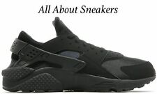 "Nike Air Huarache Run ""Triple Black"" Limited Stock Men's Trainers 318429-003"