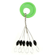 100PCS CYLINDER FISHING STOPPER WATER FLOATS BOBBERS SINKER FISHING TACKLE