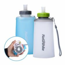 NATUREHIKE FOLDING SILICONE WATER BOTTLE OUTDOOR SPORTS DRINKING KETTLE PORTABLE