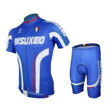 ARSUXEO MENS CYCLING SHORT SLEEVES MOUNTAIN BIKE JERSEY BIKE BICYCLE SETS