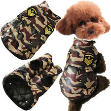 WINTER DOG JACKET PET CAT CAMOUFLAGE JACKET  DOG COAT WARM COTTON DOG CLOTHES