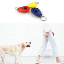 PET DOG CAT CLICKER SOUND TRAINING TOOLS WITH KEY CHAIN OUTDOOR DOG TRAINER