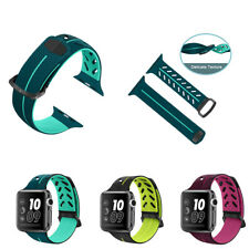 Silicone Replacement Strap Watch Band for Apple Watch Series 4 3 2 1Women Men