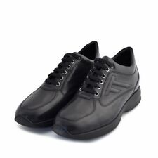 Scarpe interactive shoes Stone Haven Soldini uomo man pelle nera made in italy