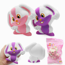 SQUISHY RABBIT BUNNY 12CM SOFT SLOW RISING 8S WITH PACKAGING COLLECTION GIFT
