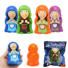 CHAMELEON SQUISHY WITCH DOLL 12CM HALLOWEEN DECOR SLOW RISING WITH PACKAGING