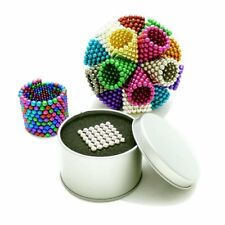 222PCS PER LOT 6MM MULTICOLROR MAGNETIC BUCK BALLS INTELLIGENT CUBE MAGIC BEADS