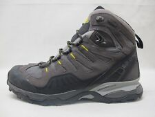 Mens Salomon Conquest GTX Walking Hiking Grey Black Lace Up Boots