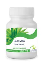 ALOE VERA estratto 6000mg 30/60/90/120 /180/250 Compresse Pillole