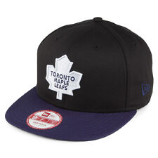 New Era 9FIFTY NHL Toronto Maple Leafs Logo Ice Hockey Snapback Hat Baseball Cap