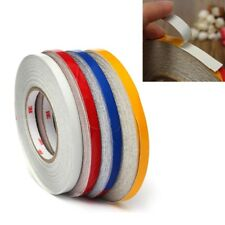 1ROLL 1CM X457M REFLECTIVE BODY RIM STRIPE STICKER DIY TAPE SELFADHESIVE