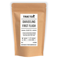Darjeeling First Flush Leaf Blend - Premium Loose Leaf Tea (50g - 100g)