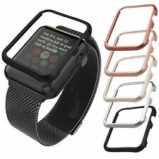 Alluminio Custodia / Bumper/Case per Apple Watch Sport 38mm/42mm Oro Nero