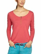 Mamalicious Nursing Long Sleeve Pink/Red Berry Breast Feeding Top T-Shirt Blouse