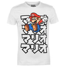 Mens Official Nintendo Super Mario Bros. T-Shirt Top Size Small - New With Tag