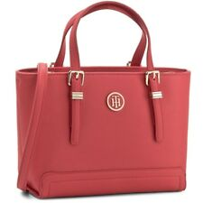 TOMMY HILFIGER AW0AW04994/614 HONEY SMALL TOTE BOLSO MUJER TOMMY ROJO
