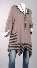112 extra-large Pull blouse haut chemise tunique pull long 42 44 46 48 50 52 56