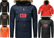 Geographical Norway Bronson Hombre Chaqueta Parka Chaqueta Ropa Poncho