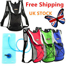 2L HYDRATION PACK WATER RUCKSACK/BACKPACK BLADDER BAG CYCLING HIKING CAMPING BFL