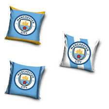 Manchester City Fc Fútbol Funda de cojín Pillowcase MCFC 40 x 40cm