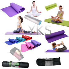 More Thick Mat Pad & Mesh Bag for Leisure Picnic Exercise Fitness Yoga FY