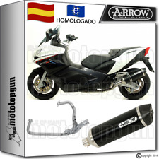 ARROW TUBO ESCAPE COMPLETO RACETECH DARK CARBON-CUP HOM APRILIA SRV 850 2012 12