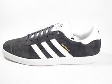 Original Mens Adidas Gazelle Grey White Trainers Shoes Sneakers BB5480