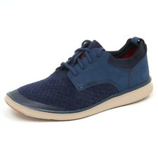 D7668 (SAMPLE NOT FOR RESALE WITHOUT BOX) sneaker uomo fabric UGG blu shoe man