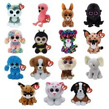 Ty Beanie Boos Boo Babies 6 inch 15cms TY Plush Soft Toys Wide Selection of 29