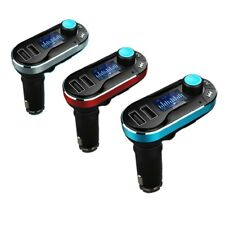 BLUETOOTH MP3 PLAYER CAR KIT WITH DUAL USB CHARGER FM TRANSIMITTERVS HANDS FREE
