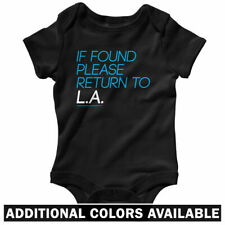 Return to Los Angeles One Piece - Baby Infant Creeper Romper NB-24M - Gift LA CA