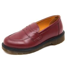 D4022 (without box) mocassino donna red DR. MARTENS loafer shoe woman
