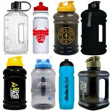 Gym Water Bottle Jug Large Capacity 2.2L - Body Power PhD USN - Strong & Durable
