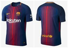 BARCELONA HOME SHIRT 2017 2018 FREE PLAYER NAME PRINTING  MESSI 10, PLAIN