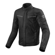 REV'IT LUCID Chaqueta Moto Scooter Impermeable Urban Negro