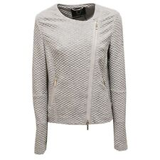 9426U giacca donna UP TO BE SOFIA full zip grigio jacket woman