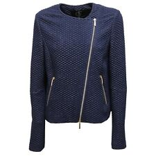 9421U giacca donna UP TO BE SOFIA full zip blue delave jacket woman