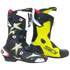 SIDI | MAG-1 Air Stars Limited Edition Stivali Moto Racing Giallo Fluo Nero