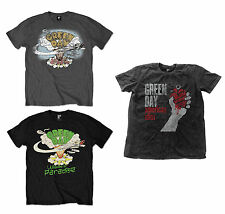 Ufficiale Green Day GRUPPO MUSICALE T-shirt Dookie Welcome To Paradise American